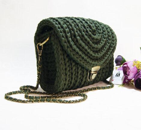Сумочка кросс - боди (Хаки)