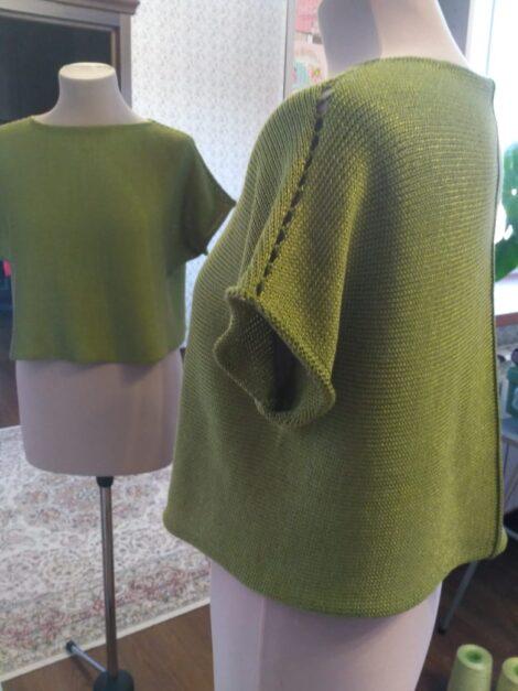 Блуза  Фисташка