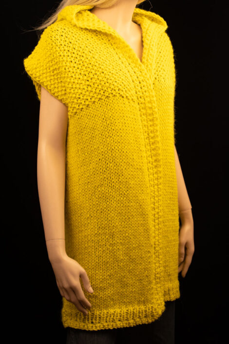 Кардиган (цвет лимонный)