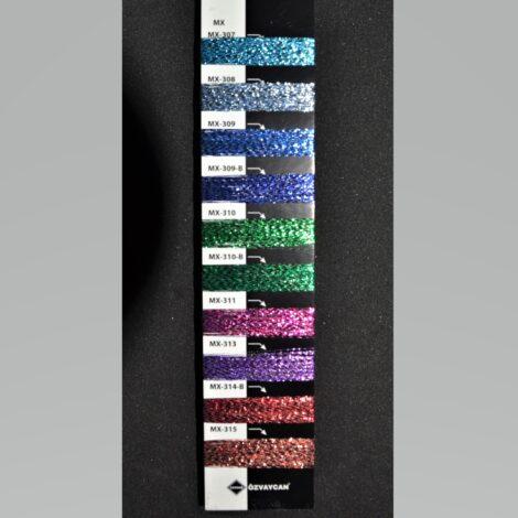 Нить lurex МХ-309 цвет синий 1/100 т. 0,25 мм от 50 грамм
